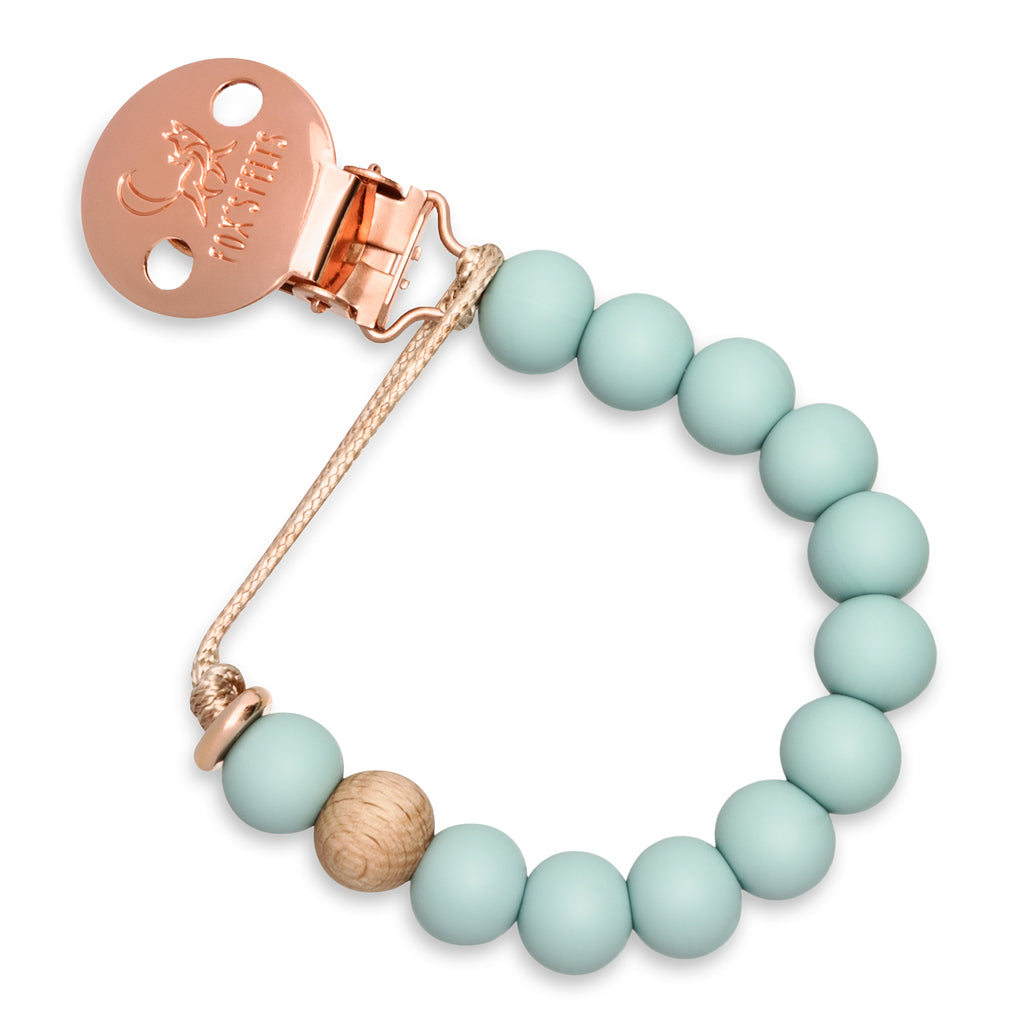 Rose Gold Edition Dummy Clip Tranquil Blue