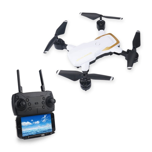 LF609 2.4G Wifi FPV RC Drone Foldable Quadcopter 0.3MP/2.0MP camera drone brushless motor RC Quadcopter 3D Flip Headles drones