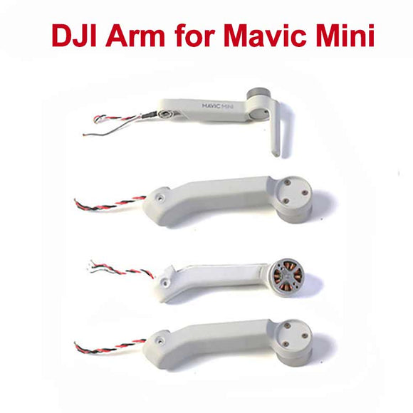 In Stock DJI Original Mavic Mini Replacement Arms with Motor for DJI Mavic Mini Motor Arm Repair Service Spare Parts