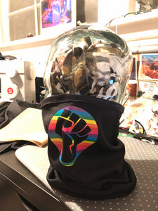 BLM Pride Design - Black Tube Mask