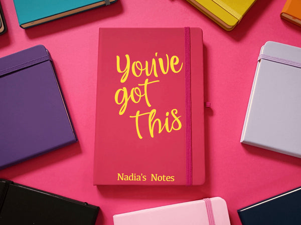 You've Got This Personalised A5 Soft Touch Notebook