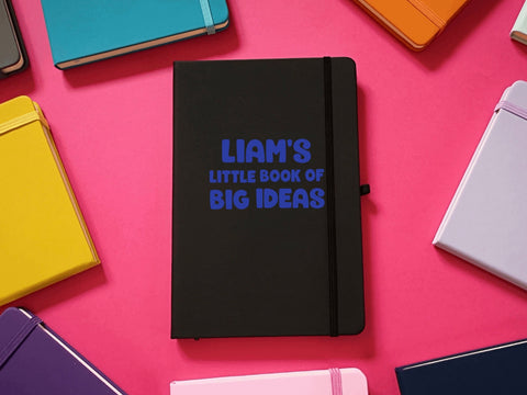 Little Book Of Big Ideas A5 Soft Touch Notebook