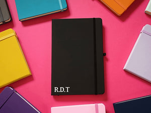 Initials Personalised A5 Soft Touch Notebook