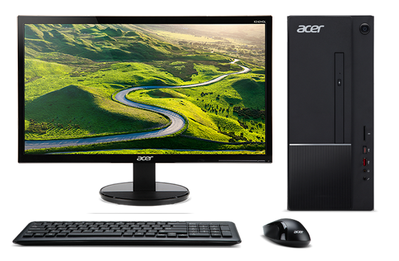 Acer Aspire TC-875 23.6inch Intel Core i5-10400 8GB 256GB SSD+1TB HDD 2GB GT1030 Win10 Desktop