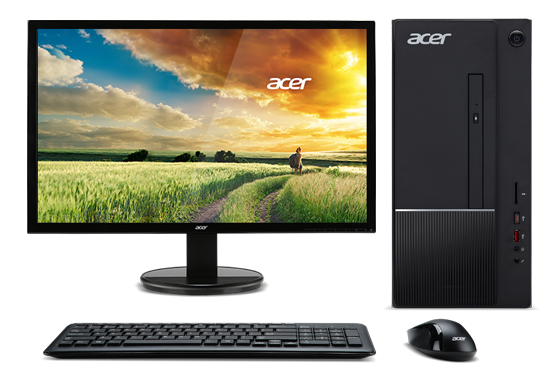 ACER Aspire TC-875 2.15inch Core i3-10100U 8GBRAM 128GB SSD+1TB HDD Windows 10 with Office