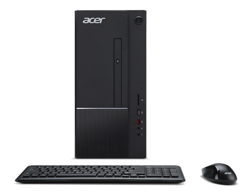 Acer Aspire TC-866 Intel Core i5-9400 8GB 128GB SSD + 1TB 2GB GFGT1030 Win10 w/ 23.6-in Monitor