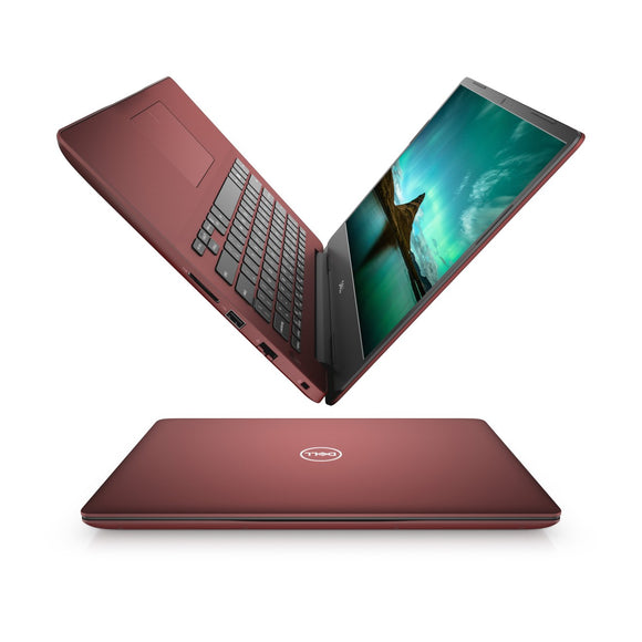 Dell Inspiron 5480 14inch Intel Core-i5-8265U 4GB RAM 1TB HDD Intel 620 Win10 Burgundy