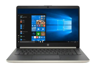 HP 14s-CF0121TU 14inch HD Intel N4000 4GB RAM 256 SSD Windows 10 Gold