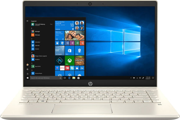 HP Pavilion 14-CE3063TX Intel Core i5-1035G1 14inch FHD 8GB RAM 1TB + 128GB SSD MX130 2GB Warm Gold