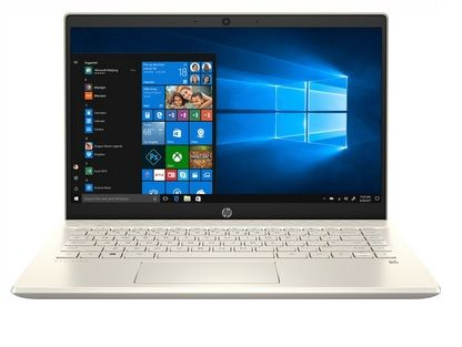 HP 14S-DK0136AU 14inch FHD AMD Ryzen7-3700U 8GB RAM 512GB SSD Win10 Pale Gold