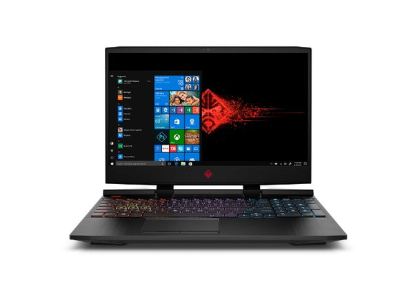 HP Omen 15-DC1113TX I15.6 FHD Intel Core i7-9750H 8GB RAM 1TB+512GB SSD GeForce GTX 1650 Win10