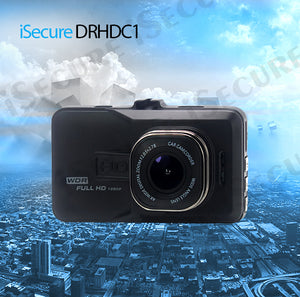iSecure DRHDC1 5MP 3inch Dash Cam