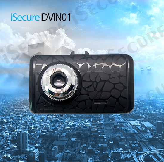 iSecure DVIN01 Dash Cam 3MP 2.4inch