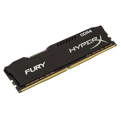 Kingston HX426C16FB3 8GB 2666MHz DDR4 CL16 DIMM 1Rx8 HyperX FURY Black