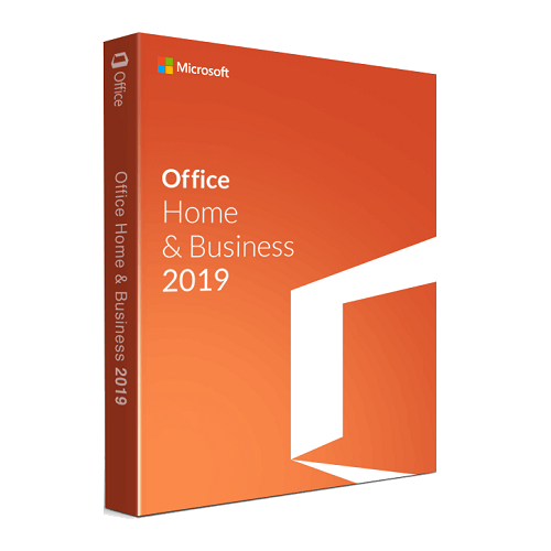 Microsoft Office Home and Business 2019 CD