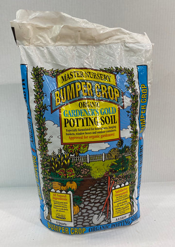 MASTER NURSERY GARDENER'S GOLD POTTING SOIL 8QT