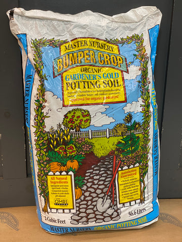 MASTER NURSERY GARDENER'S GOLD POTTING SOIL 2 CUFT