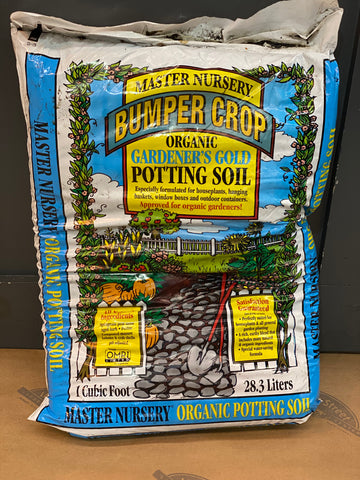MASTER NURSERY GARDENER'S GOLD POTTING SOIL 1 CUFT