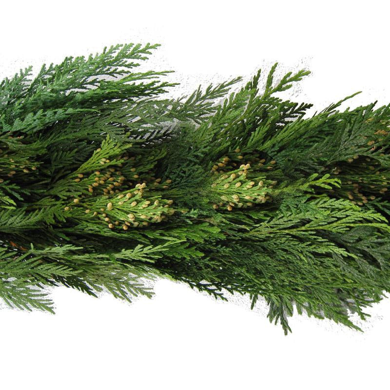 25 Ft Western Cedar Garland - 14th Street Garden Center - 2