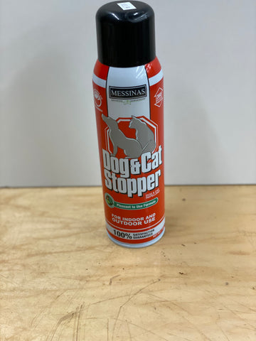 MESSINA DOG AND CAT STOPPER 15 OZ