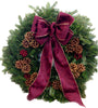 16 inch Double Face Fraser Fir Wreath - 14th Street Garden Center - 2