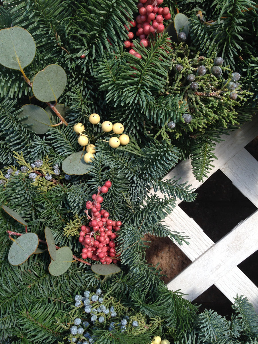 14 inch Scent of the Season Wreath - 14th Street Garden Center - 2