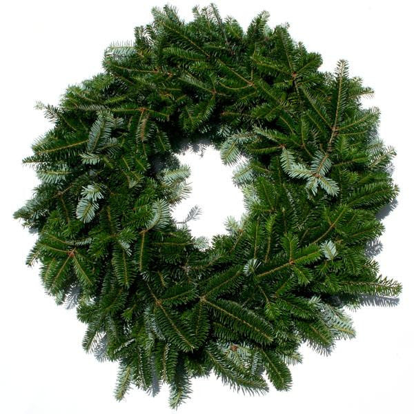 16 inch Double Face Fraser Fir Wreath - 14th Street Garden Center - 1