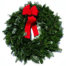 12 inch Fraser Fir Wreaths - 14th Street Garden Center - 2