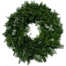 36 inch Fraser Fir Wreaths - 14th Street Garden Center - 1