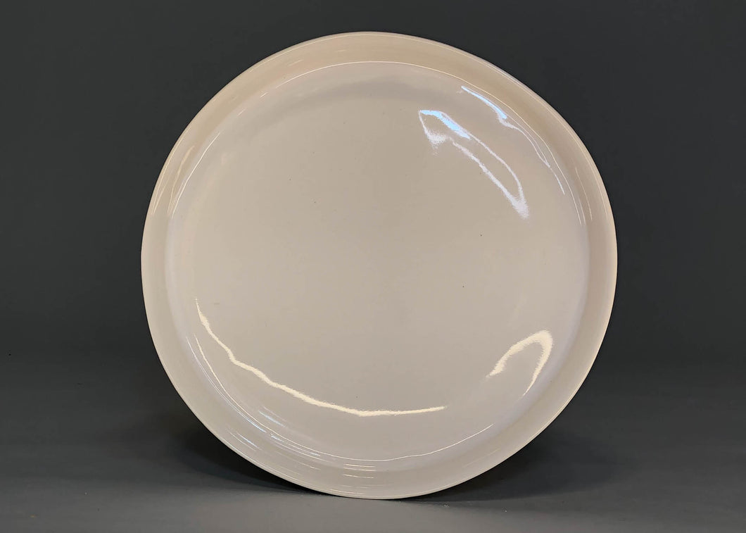 Large Plate White