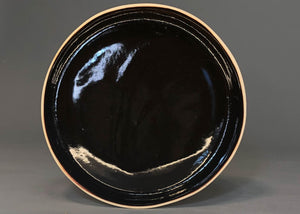 Large Plate Dark Brown