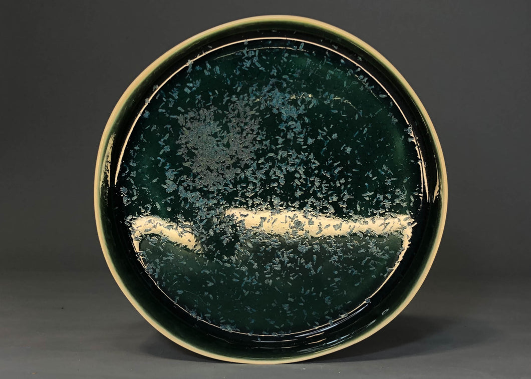 Large Plate Emerald