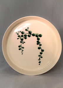 String of Pearls Plate