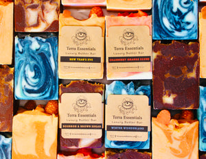 Luxury Butter Bar Soaps Winter 2020