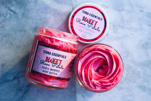 Sweet Rose Petals Triple Whipped Body Butter