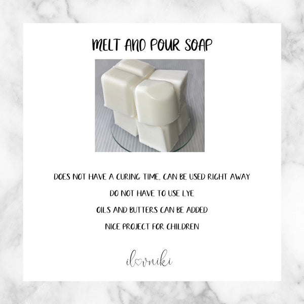 Melt & Pour Soap, Why I Love It