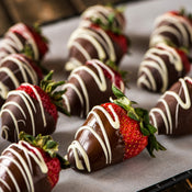 chocolate-covered strawberries