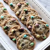 easter egg chocolate chip cookies (1 dz)