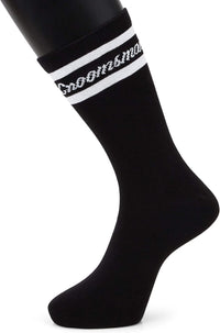Groomsman Socks for Weddings, Bachelor Party Favors (6 Pairs)