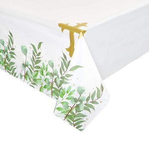 3 Pack Religious Holy Communion Baptism Party Tablecloth Table Cover, 54 x 108""