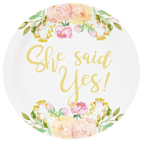 Serves 24 She Said Yes Bridal Shower Party Supplies Decorations for Wedding