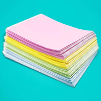 100pcs Pastel Party Favor Goodie Bag for Birthday Treat, Baby Shower Gifts 7""
