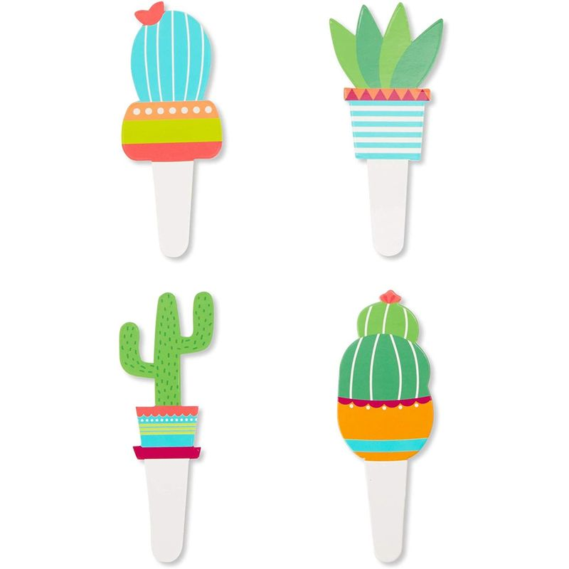 Cactus Cupcake Wrapper and Toppers for 50 Fiesta Cupcakes