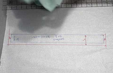 How to calculate neckband size for a t-shirt in sewing