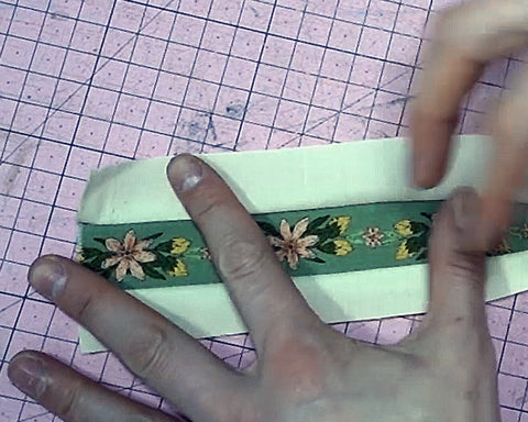 How to make two toned straps for bags sewing tutorial