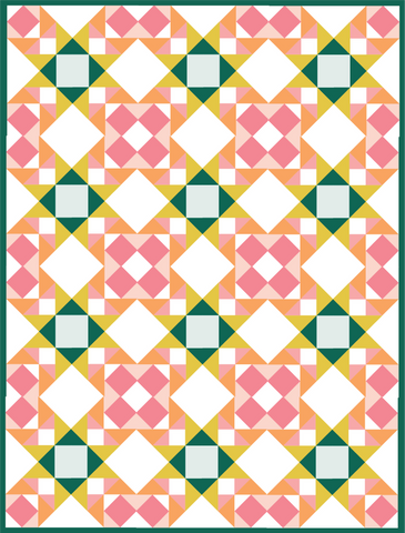 foundation paper piecing basics in a whole quilt using the summer sampler 2021 sewing pattern