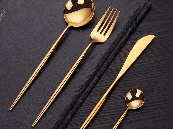 Catherine cutlery set on a table