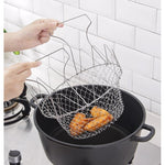 Load image into Gallery viewer, Stainless steel frying basket for fried chicken