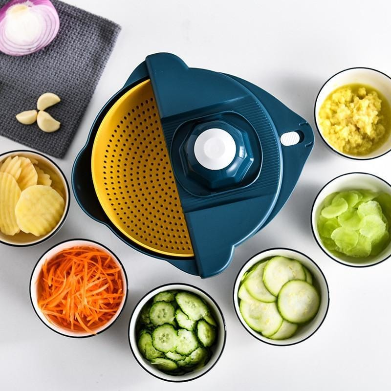 Vileep vegetable slicer with different vegetables on the table