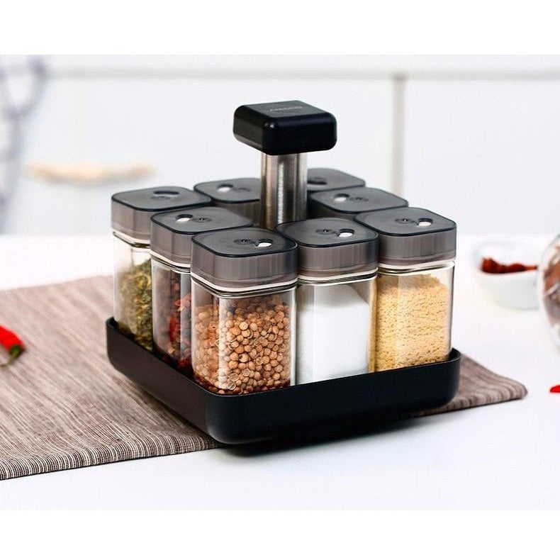 Vileep rotating spice rack